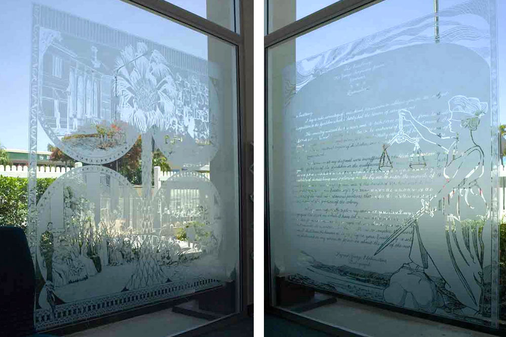 Frosted Glass Windows 5