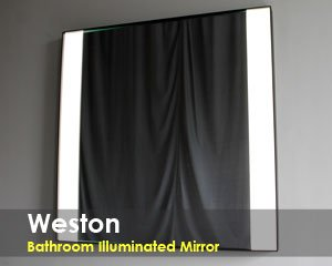 Weston Bathroom Lighted Mirror