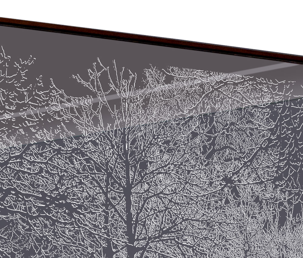 Enchanted Forest Feature Illuminated Mirror