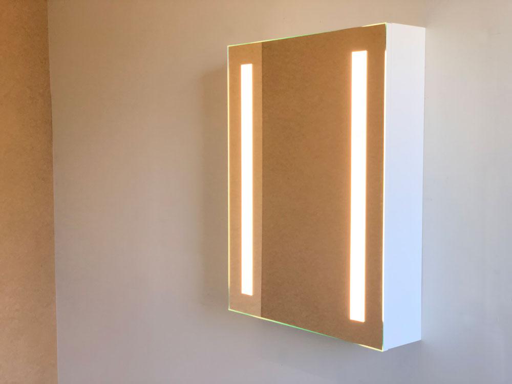 Cabinet Bathroom Lighted Mirror